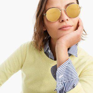 J.Crew Marina Wire Frame Sunglasses